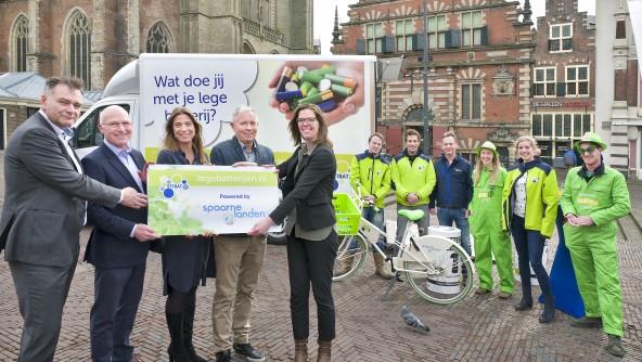 100% elektrische inzameling van lege batterijen in regio Haarlem en Amsterdam