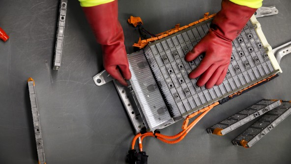 End-of-life EV batteries